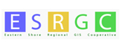 logo for ESRGC - Eastern Shore Regional GIS Cooperative